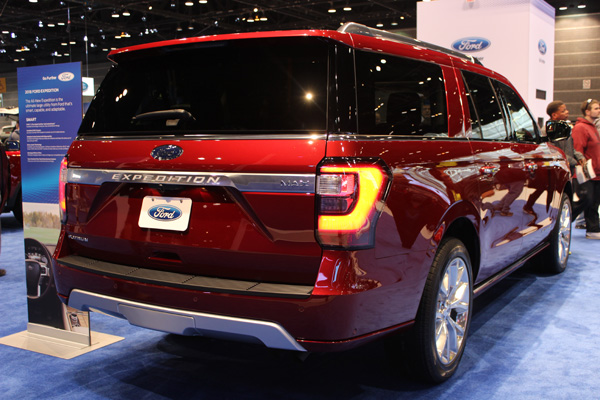 "<div class=""meta image-caption""><div class=""origin-logo origin-image wls""><span>WLS</span></div><span class=""caption-text"">The 2018 Ford Expedition at the 2017 Chicago Auto Show on February 13, 2017.</span></div>"
