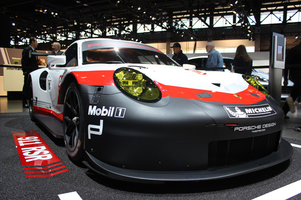 <div class='meta'><div class='origin-logo' data-origin='WLS'></div><span class='caption-text' data-credit=''>The Porsche 911 RSR at the 2017 Chicago Auto Show at McCormick Place on February 13, 2017.</span></div>