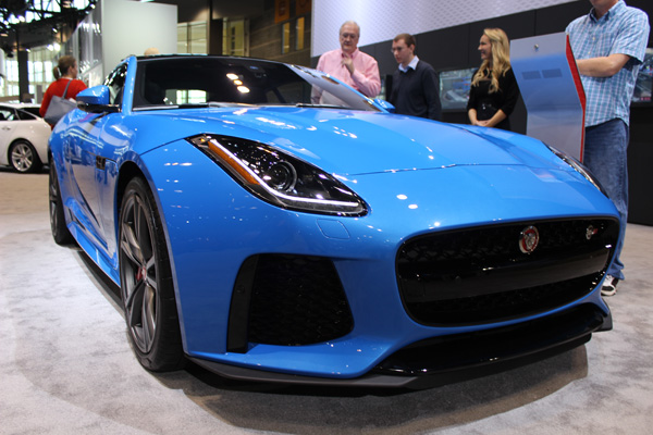 <div class='meta'><div class='origin-logo' data-origin='WLS'></div><span class='caption-text' data-credit=''>The 2017 Jaguar F-Type at the 2017 Chicago Auto Show on Feb. 13, 2017.</span></div>