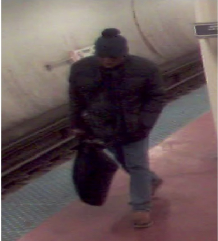 <div class='meta'><div class='origin-logo' data-origin='WLS'></div><span class='caption-text' data-credit='Chicago police'>Surveillance images of a suspect wanted in connection with attacking and robbing a 70-year-old man at the CTA Blue Line Monroe Station in the Loop Tuesday.</span></div>
