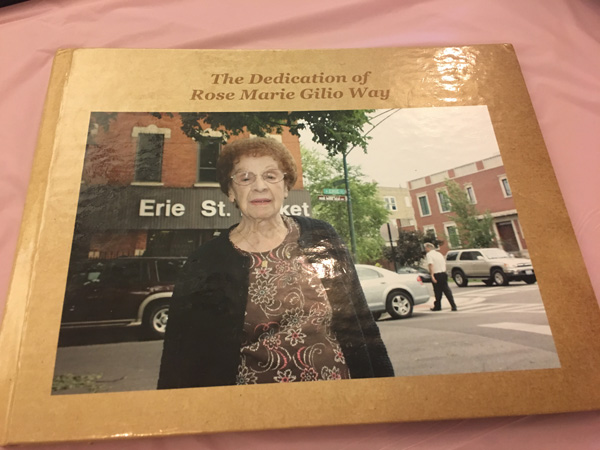 <div class='meta'><div class='origin-logo' data-origin='none'></div><span class='caption-text' data-credit=''>She lived on Erie Street for 80 years, and a section of Erie was named in her honor when she turned 100.</span></div>