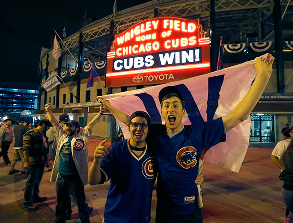 <div class='meta'><div class='origin-logo' data-origin='none'></div><span class='caption-text' data-credit='AP Photo/Charles Rex Arbogast'>The Cubs are scheduled to face the Indians in the decisive Game 7.</span></div>