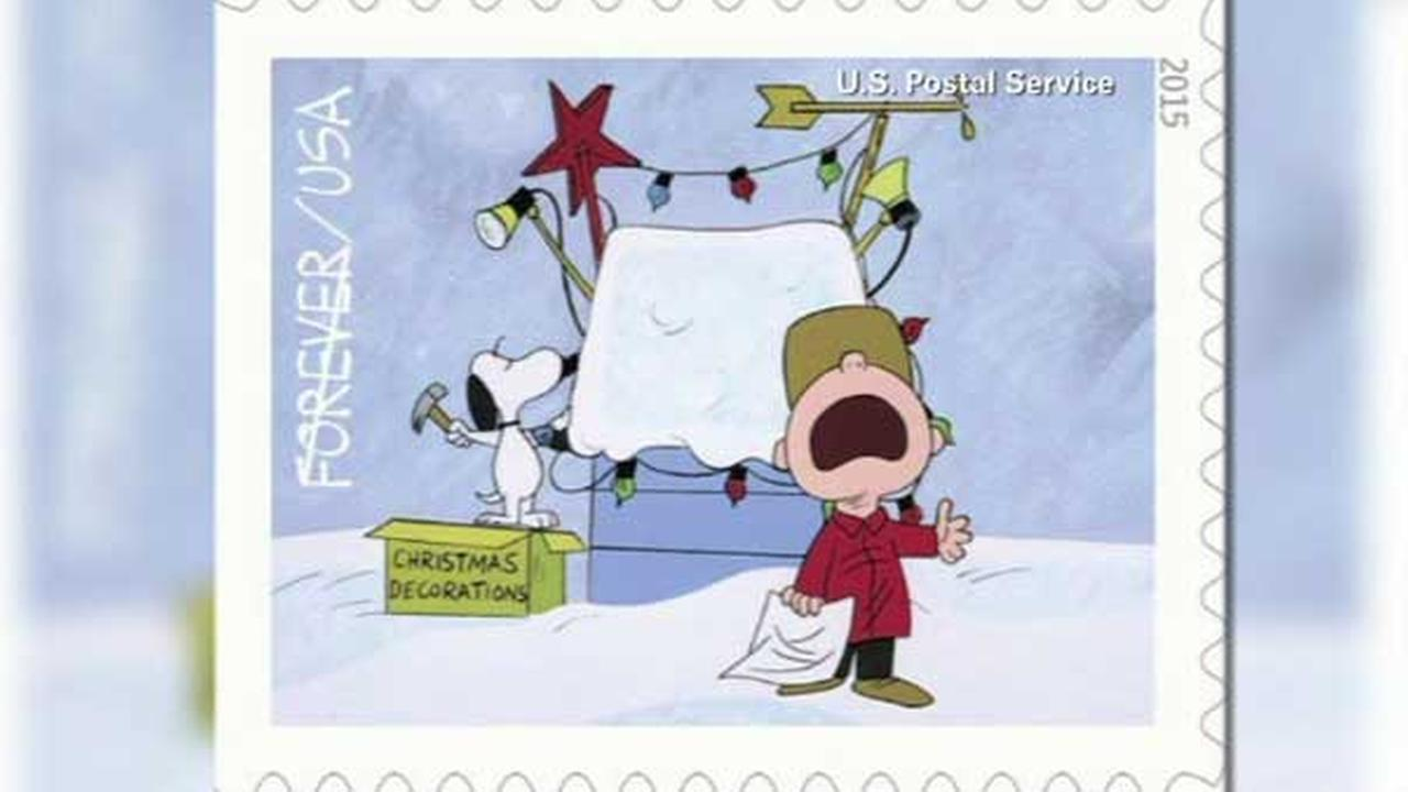 The U.S. Postal Service is selling stamps featuring the Peanuts gang to celebrate the 50th anniversary of A Charlie Brown Christmas.