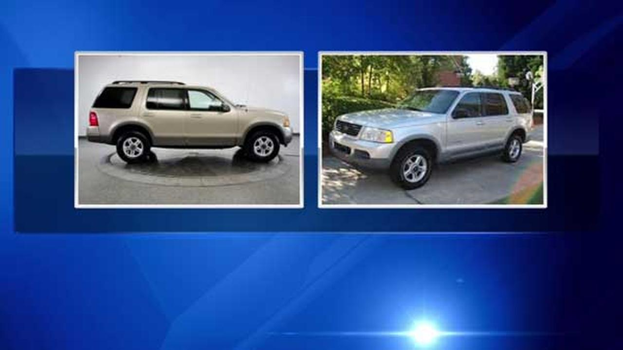 Police say a car similar to this one was involved in a fatal hit-and-run crash in Rogers Park.