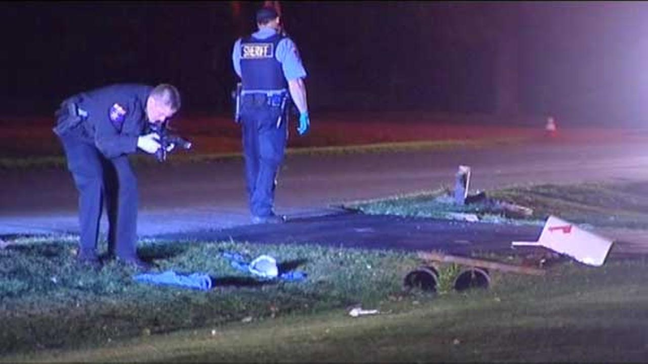 A man was struck and killed in a hit-and-run crash in northwest suburban unincorporated Prairie View.
