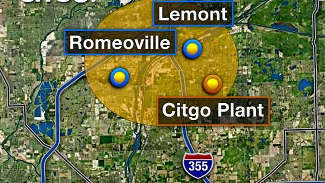 Foul smell reported in Romeoville, Lemont