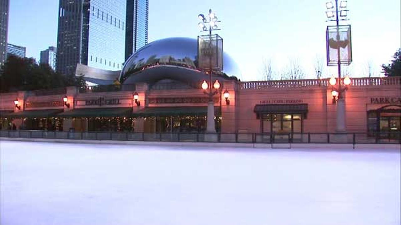 millennium park outdoor ice skating rink opens friday
