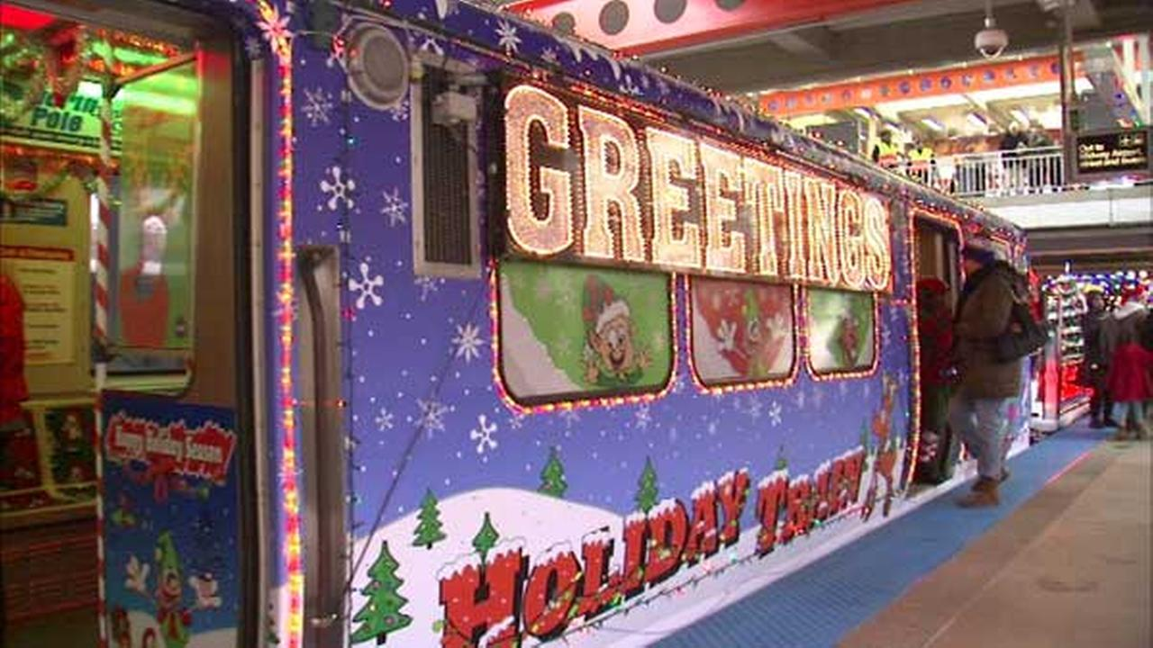 Its time to keep an eye out for the CTA Holiday Train! It will make its first trip of the season on Saturday.