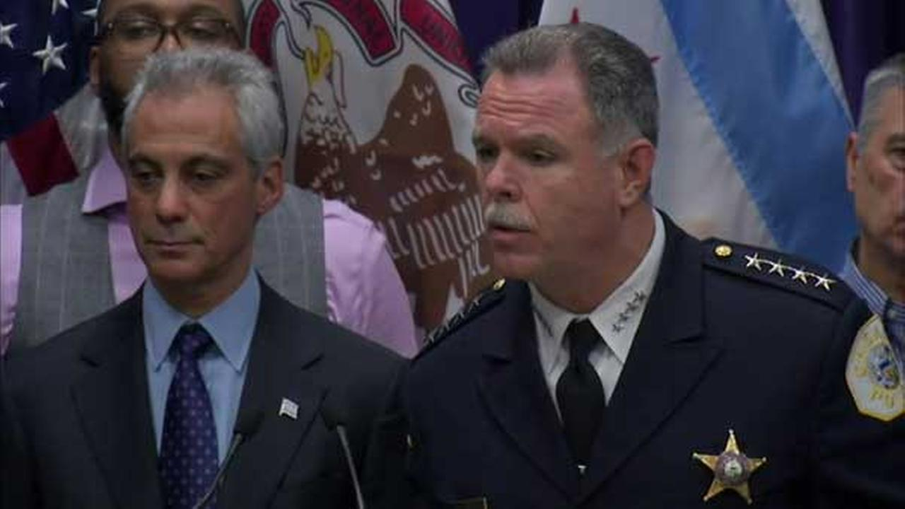 Mayor Rahm Emanuel and Chicago Police Supt. Garry McCarthy.
