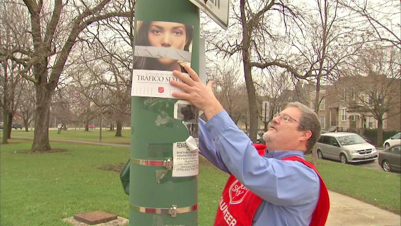 Salvation Army posts signs as part of outreach push