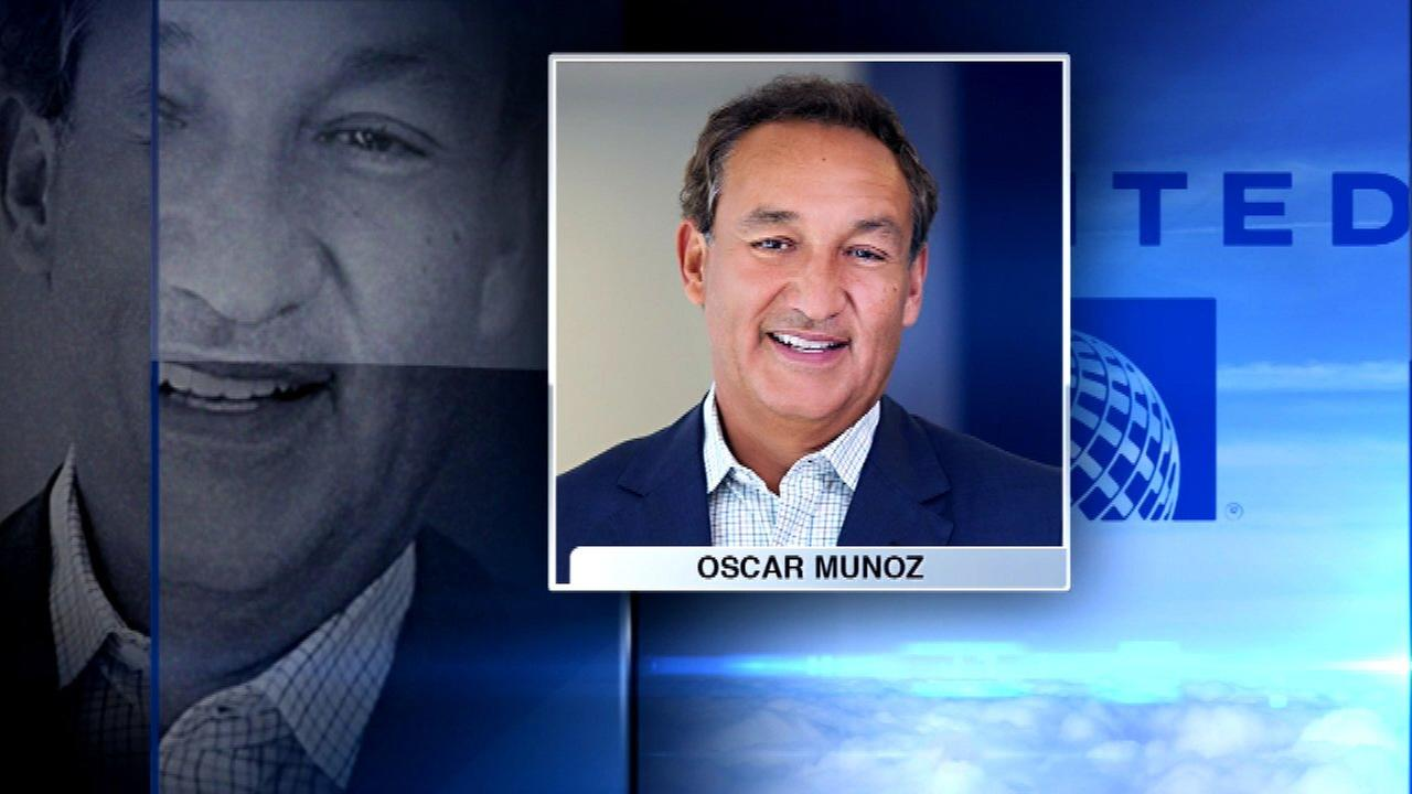 United CEO Oscar Munoz home from hospital after heart transplant