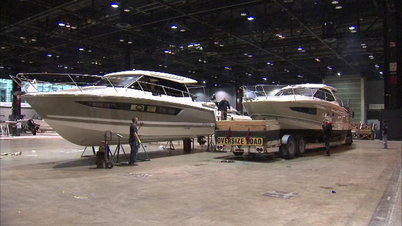 Chicago Boat, RV and Strictly Sail Show opens Jan. 14