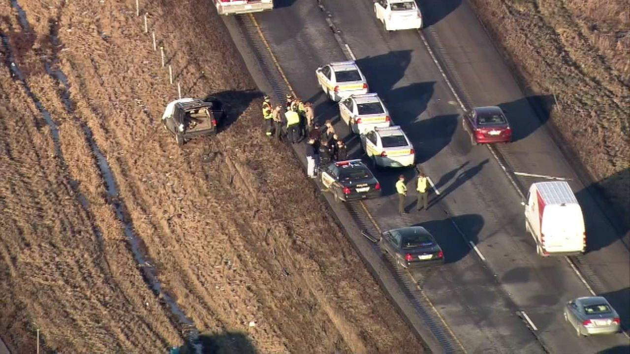 I-57 chase ends after homicide suspect dies of self-inflicted gunshot