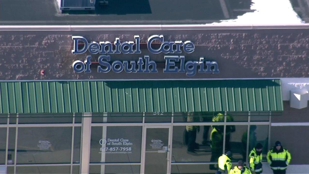 7 hospitalized after hazmat situation at South Elgin dentist