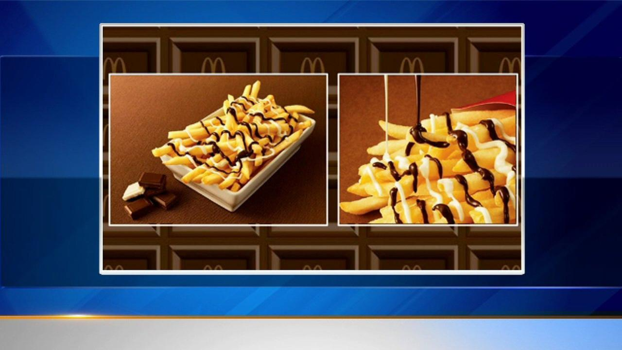 McDonald's Japan unveils 'McChoco Potato'