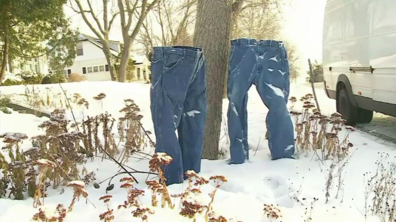 Minnesotans are freezing jeans, making outdoor art