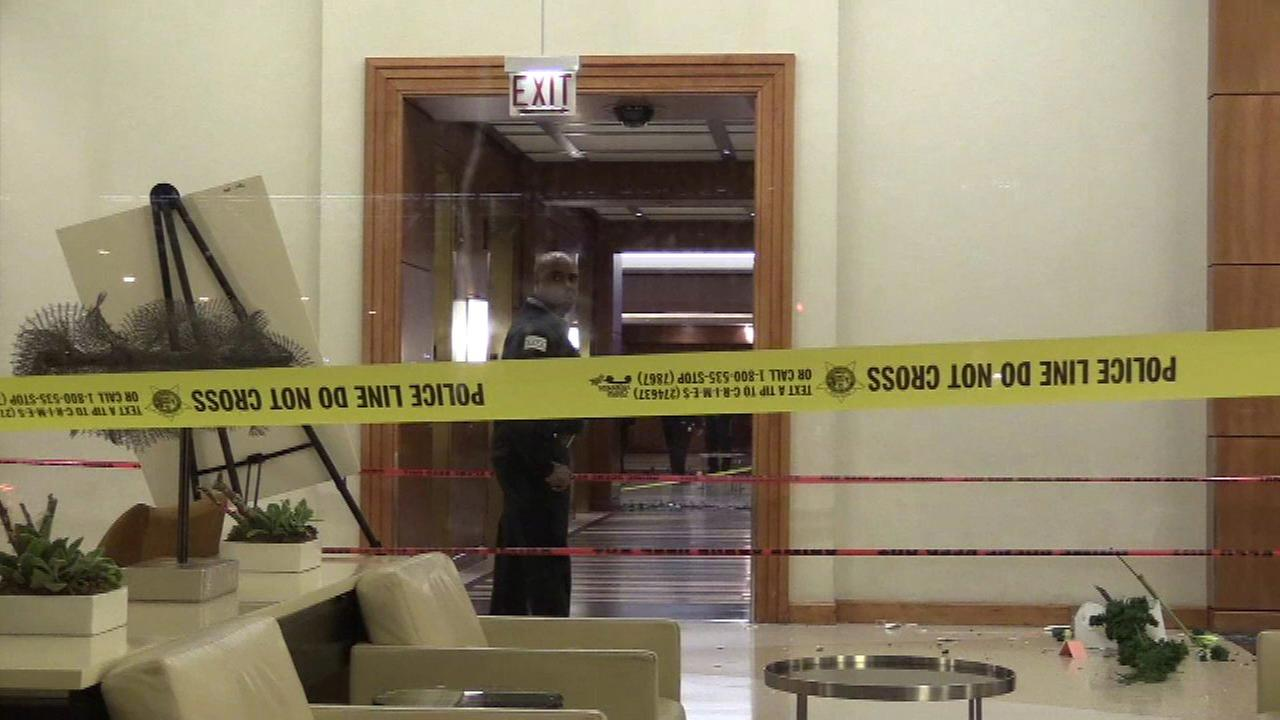 2nd suspect in custody in fatal Hyatt hotel lobby shooting