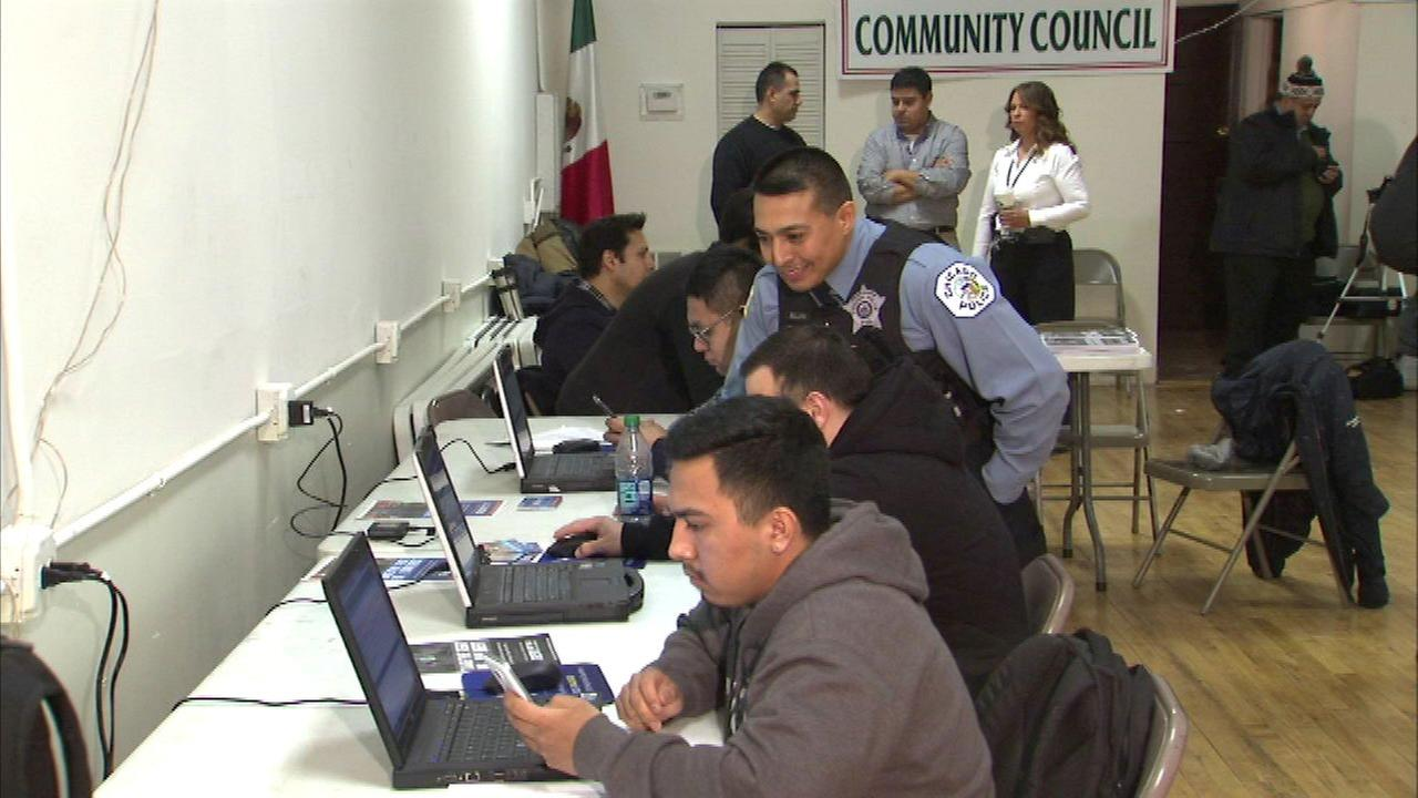 CPD holds recruiting event ahead of application deadline