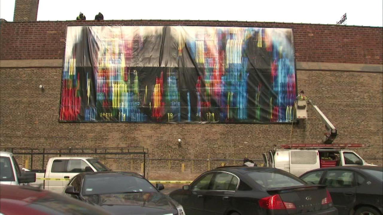 Chicago photographer 39 s mural displayed along wabash arts for Chicago mural project