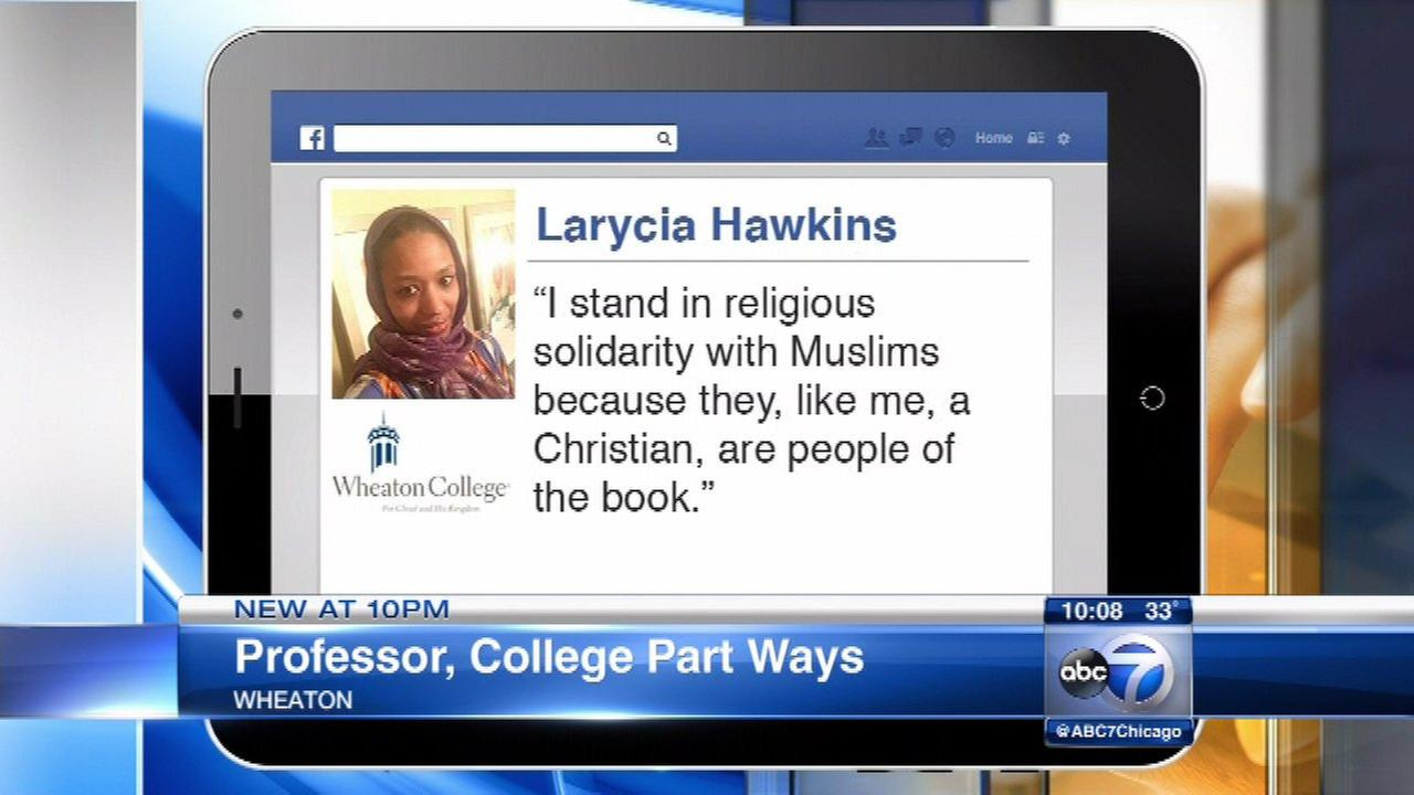 Wheaton College professor to leave post after controversial Facebook post