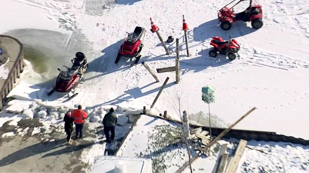 3 injured in snowmobiling crash in Antioch