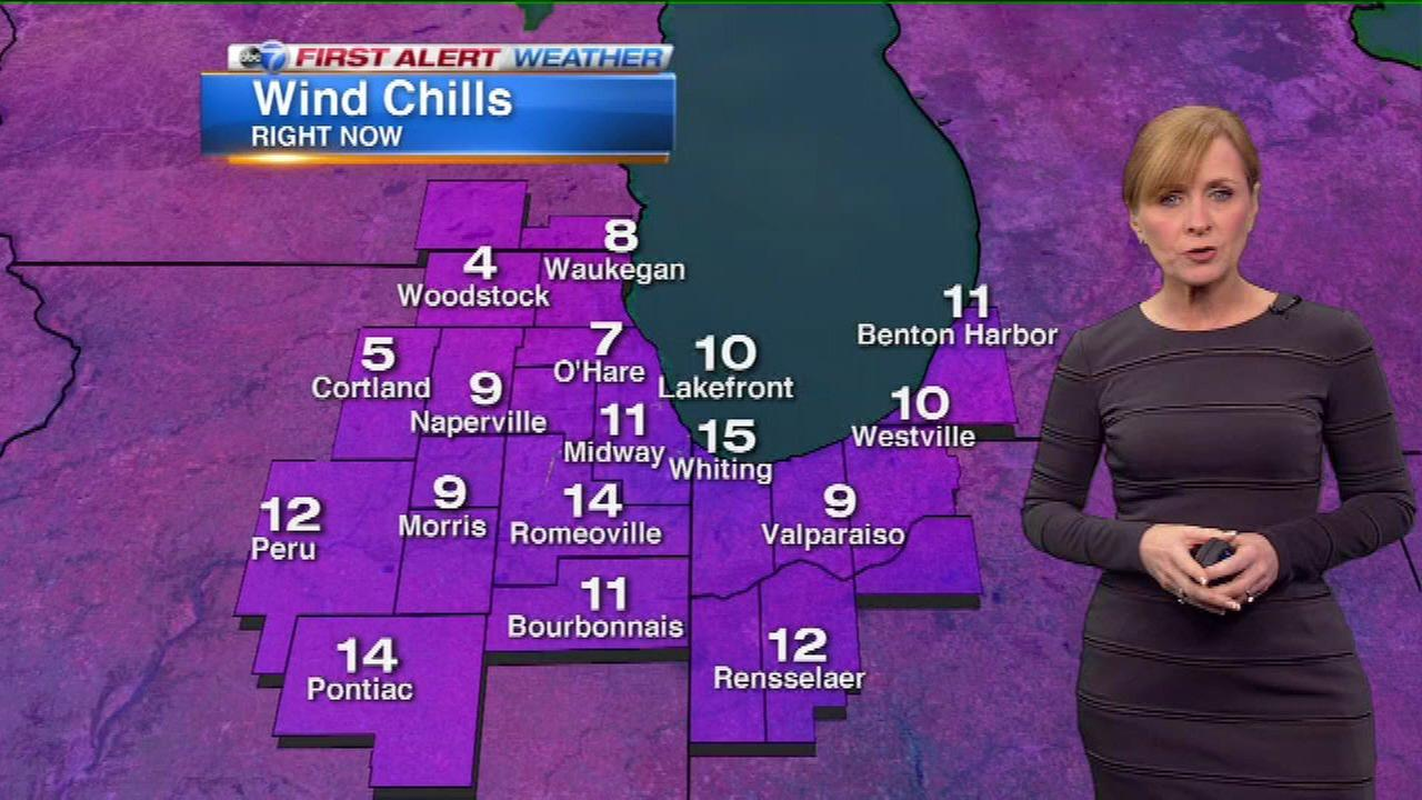 Chicago is bracing for a brutally cold Presidents Day weekend, as well as some accumulating snow.