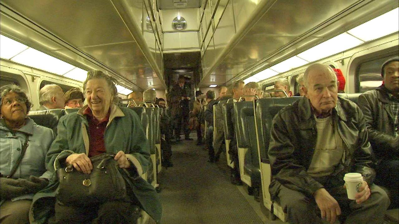 Historic Metra trains make final trip