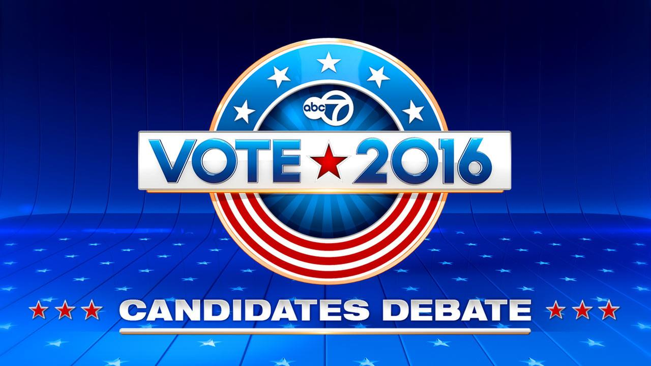 Vote 2016 LIVE debates on ABC7 Chicago