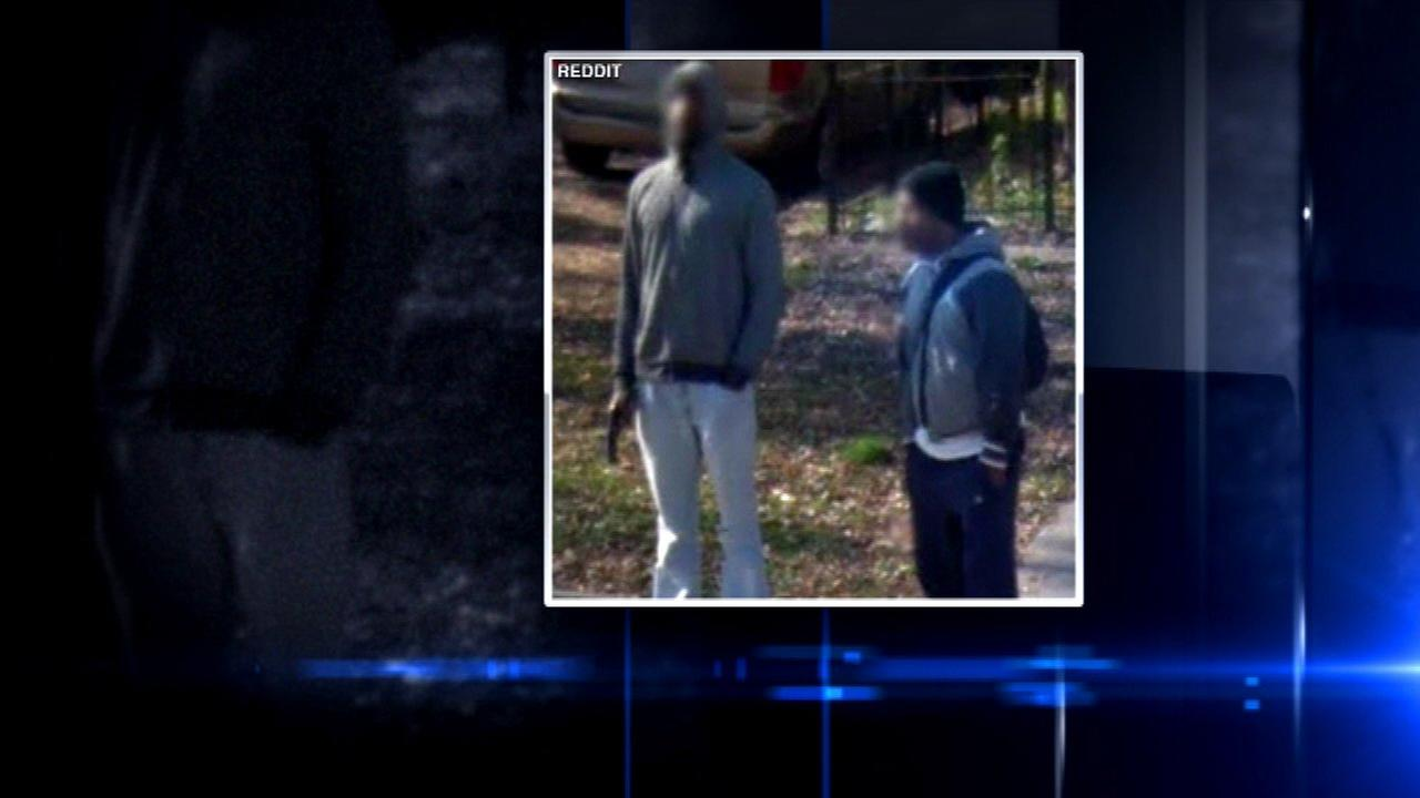 Google Street View image shows man holding gun in West Garfield Park