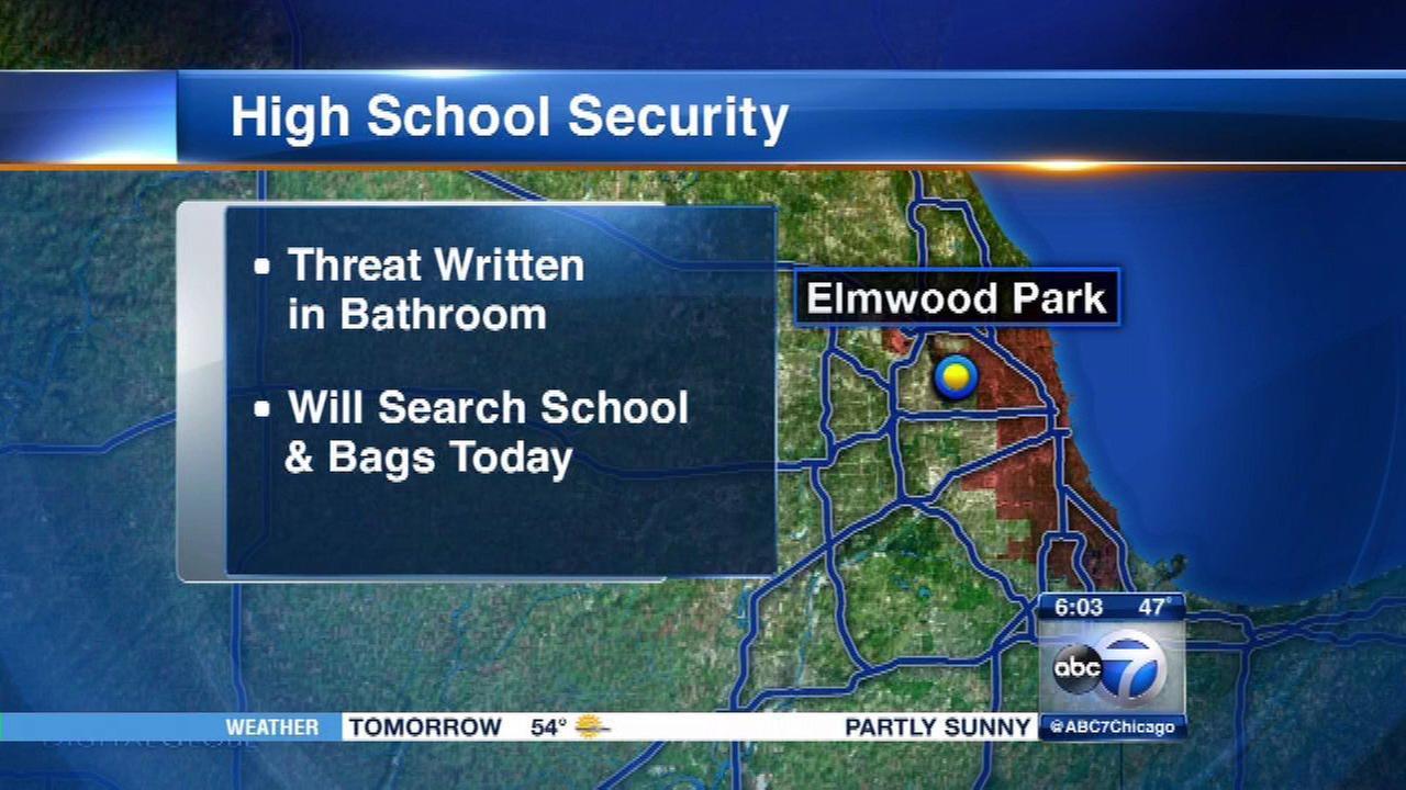 Threatening message at Elmwood Park High School investigated
