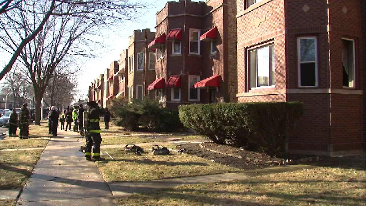 Woman, 78, injured in Northwest Side fire