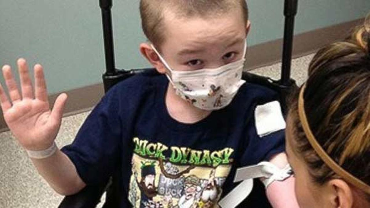 Colorado boy turning into 'stone' because of rare skin condition