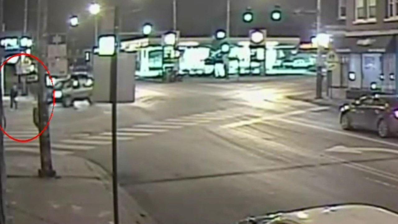 Police are asking the public to take a close look at surveillance video from a deadly hit-and-run in Chicagos Avondale neighborhood.
