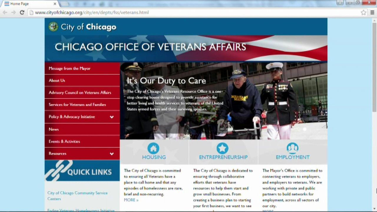 Chicago launches new veterans' services website
