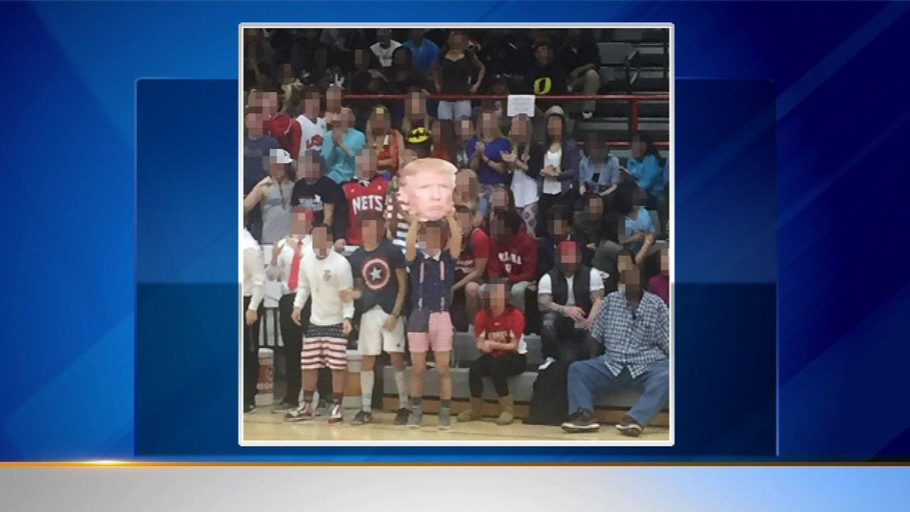 School investigates incident of alleged racist Donald Trump rhetoric during game