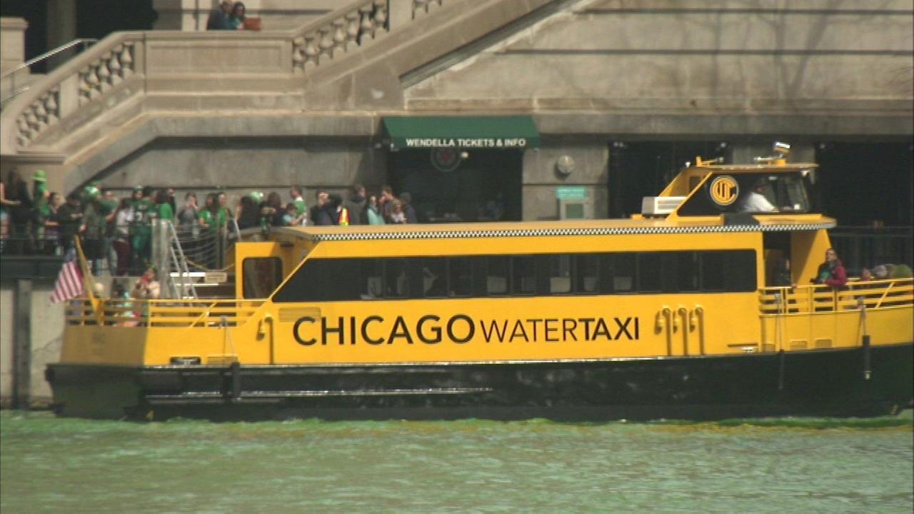 Water taxis are back on the Chicago River