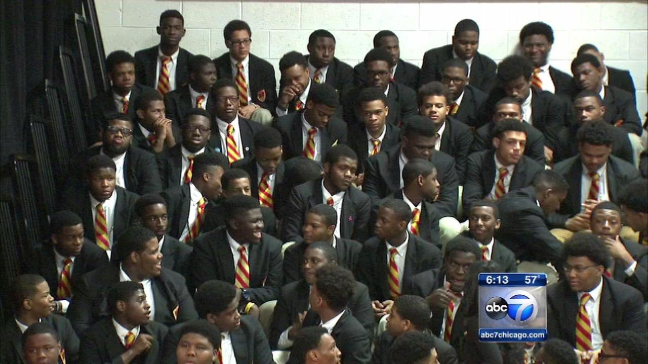 All of Urban Prep's senior class college-bound for 7th year in row