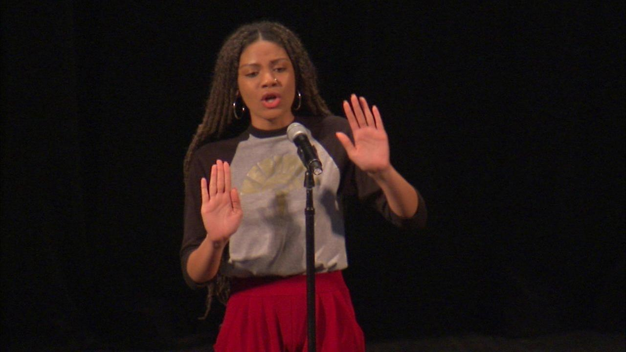 Youth poets compete at annual 'Louder than a bomb' festival