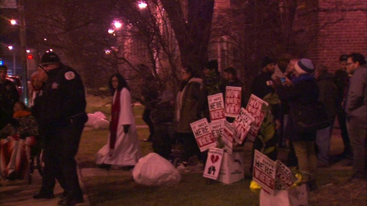Protesters against North Side redevelopment project arrested