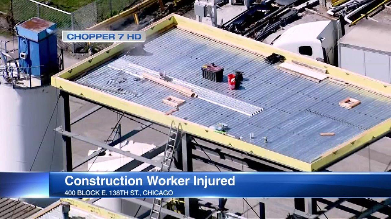 Worker seriously injured in Riverdale construction fall