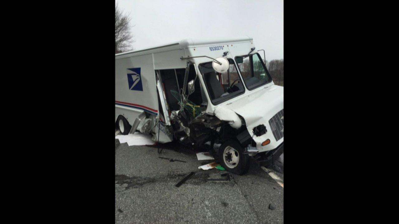 3 postal vehicles involved in crash in laporte county for Laporte county offices
