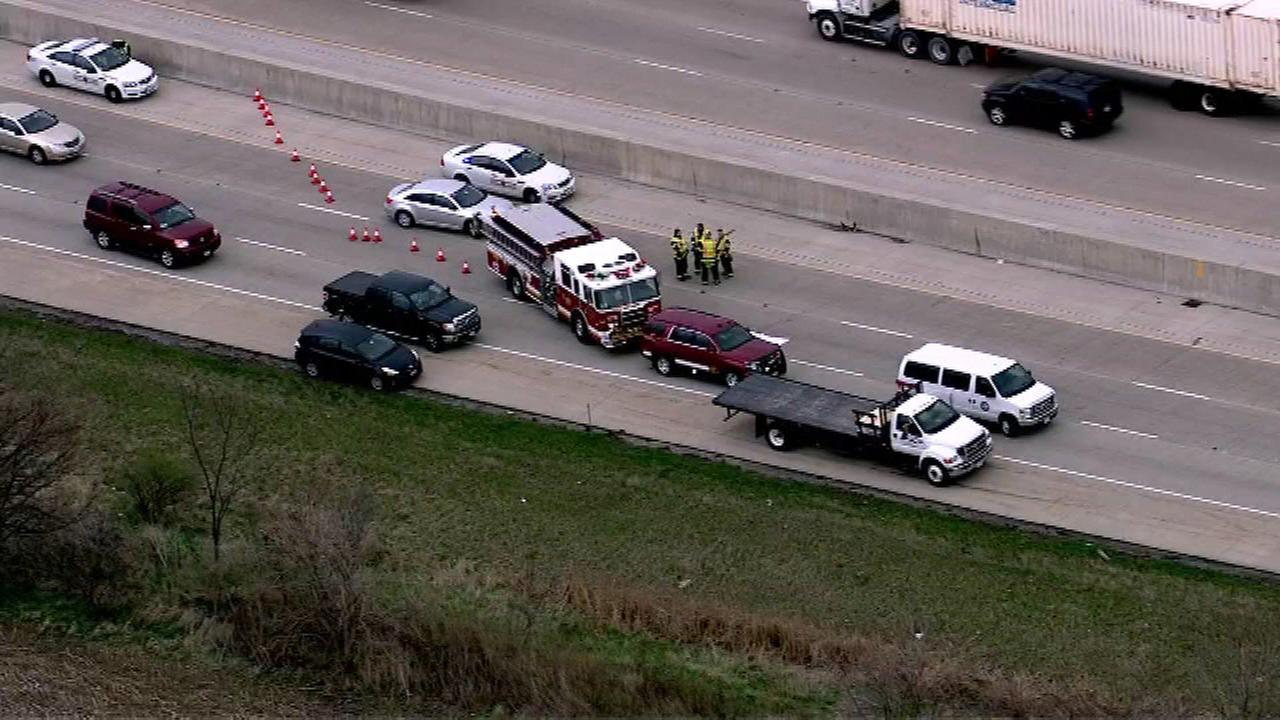 1 killed in I-80 crash near New Lenox