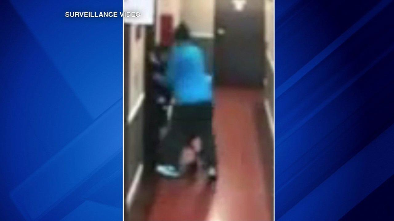 A 61-year-old man is charged with attacking and robbing an elderly woman in a Lakeview high rise on Easter Sunday.
