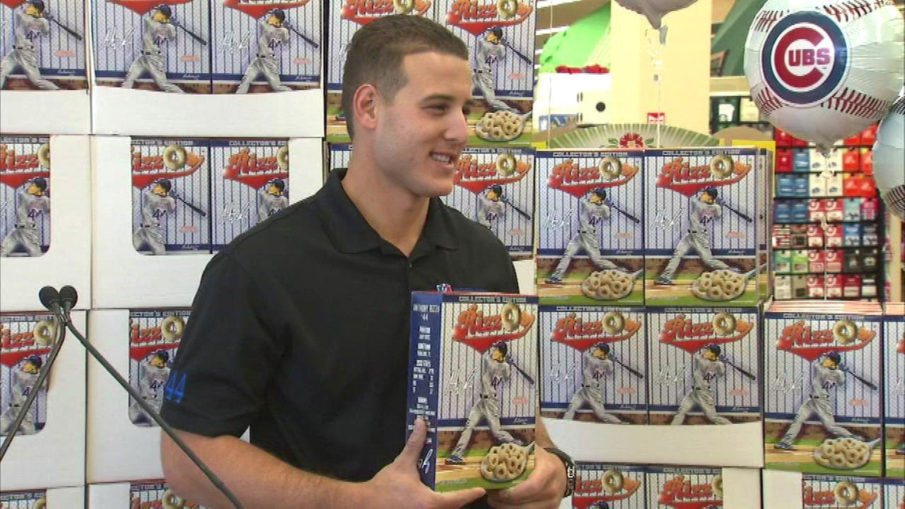 Anthony Rizzo's special edition cereal RizzOs hits shelves