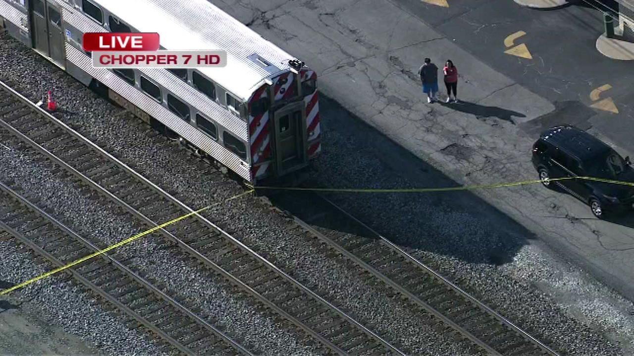Metra delays after pedestrian fatally struck