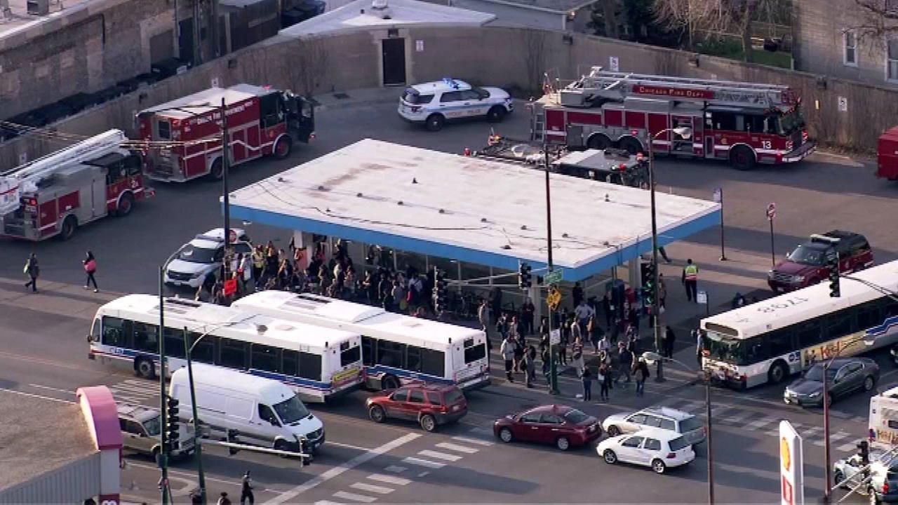 Person fatally struck by CTA Blue Line train near Belmont