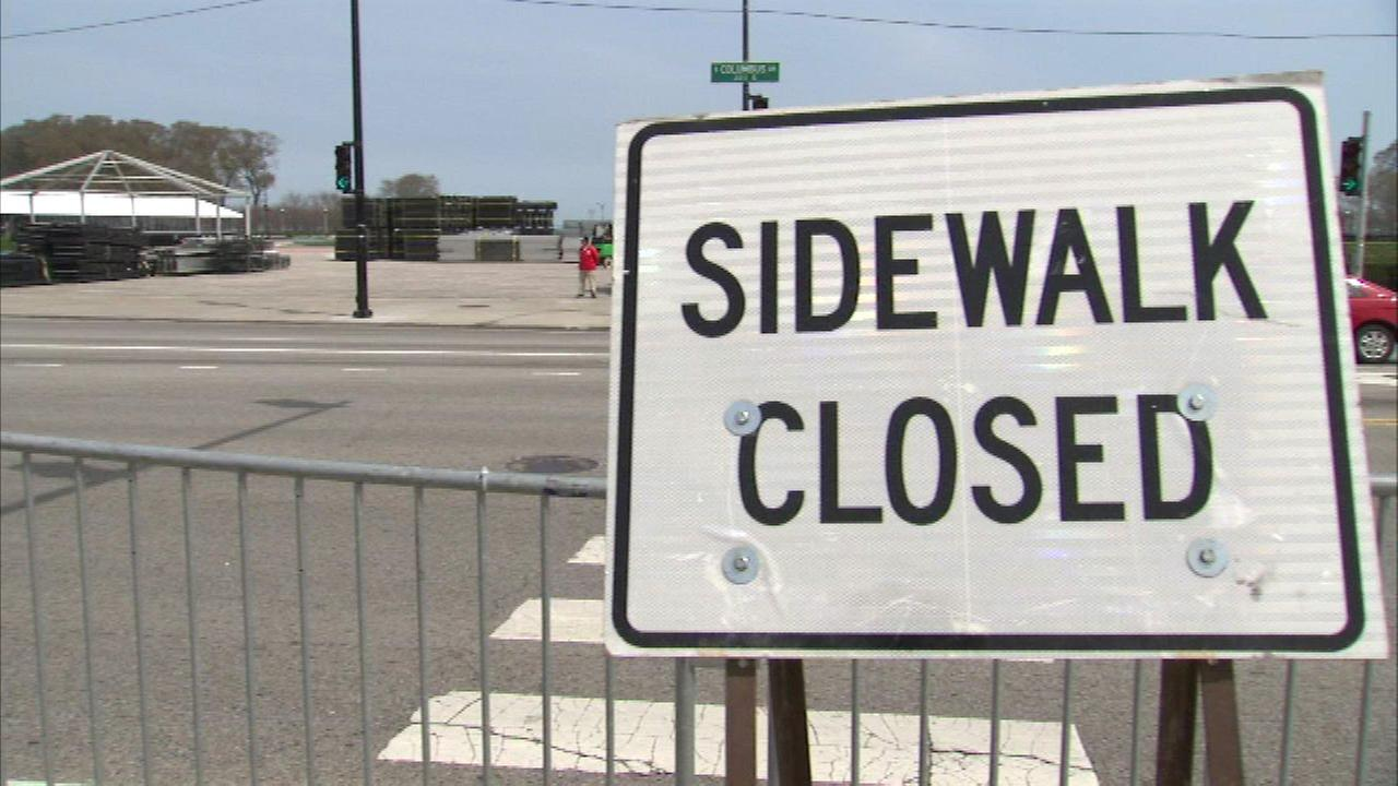 Street closures begin ahead of NFL Draft Town