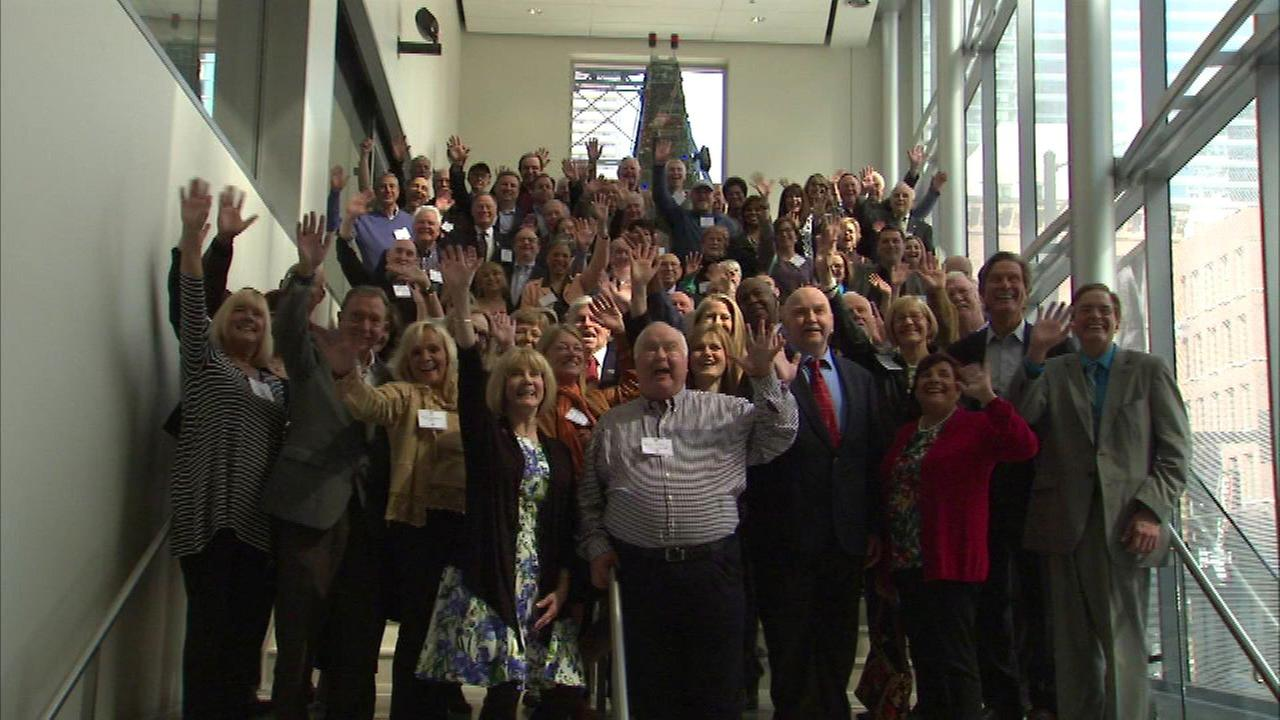 ABC7 reunion held at Museum of Broadcast Communications