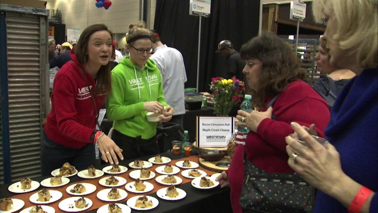 Baconfest runs through Sunday at UIC Forum
