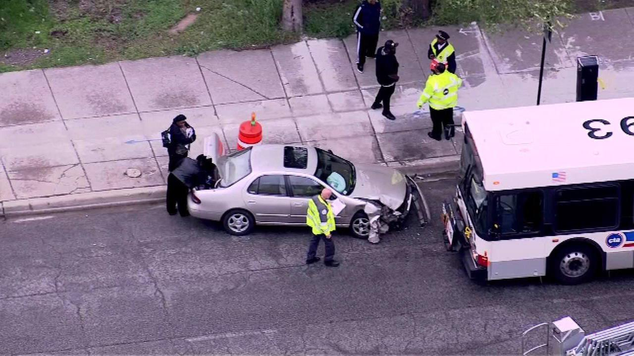Several people were hurt in a crash involving a CTA bus on Chicagos South Side Monday morning.